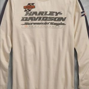 Harley Davidson long sleeve shirt. NWT